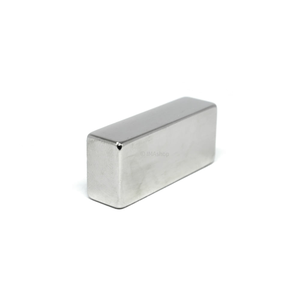 55c075e9a2a Super Ímã de Neodímio Bloco 35x15x10 mm - IMAshop - ImaShop