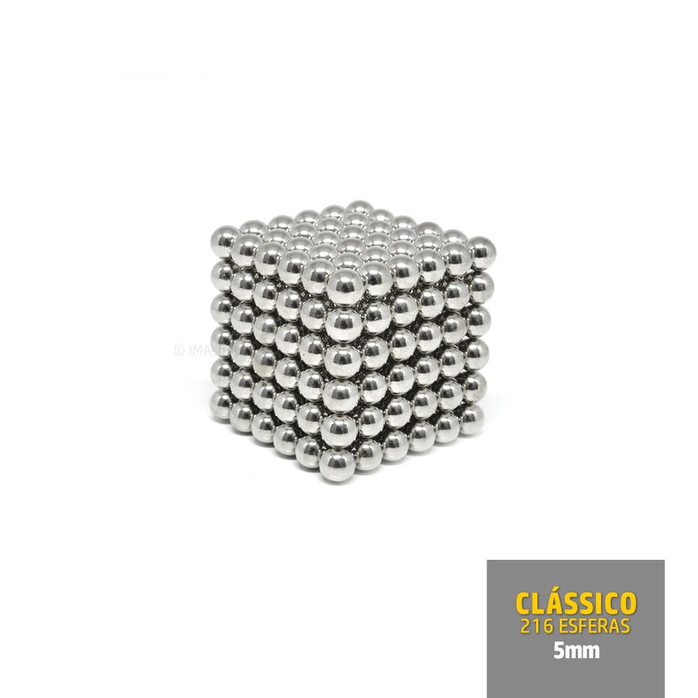 NEOcube Cubo Magnético com 216 Esferas de Neodímio 5mm
