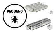 Pequenos Formatos-Neodímios com até 5mm