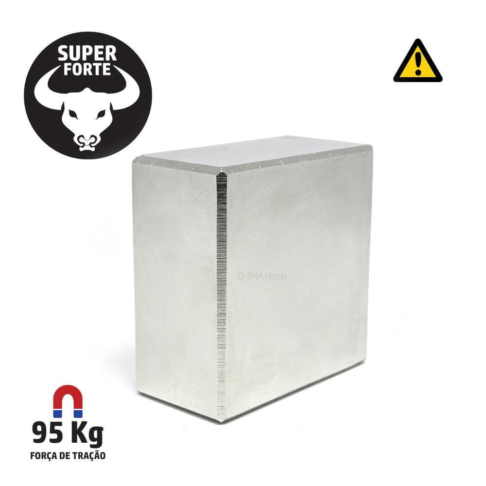 075594bfdb1 Super Ímã de Neodímio Bloco 50